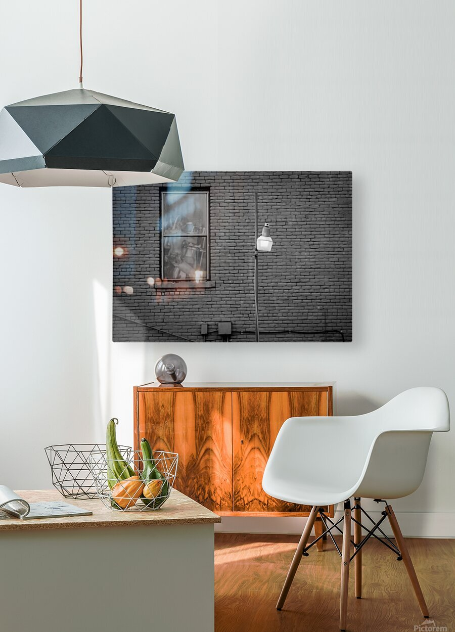 SUNDAY IN LONDON  HD Metal print with Floating Frame on Back