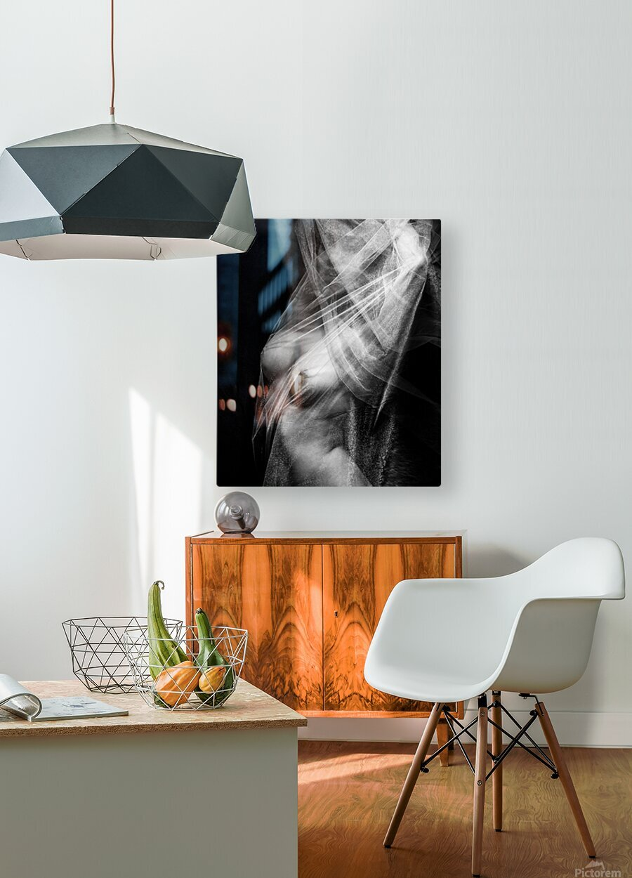 SHEERLY TORSO   HD Metal print with Floating Frame on Back