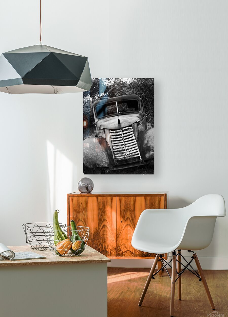 GOOD OL GRILL  HD Metal print with Floating Frame on Back