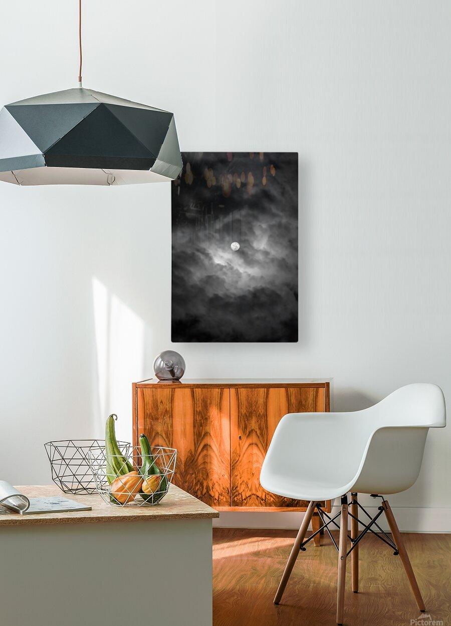 GODDESS ALA  HD Metal print with Floating Frame on Back