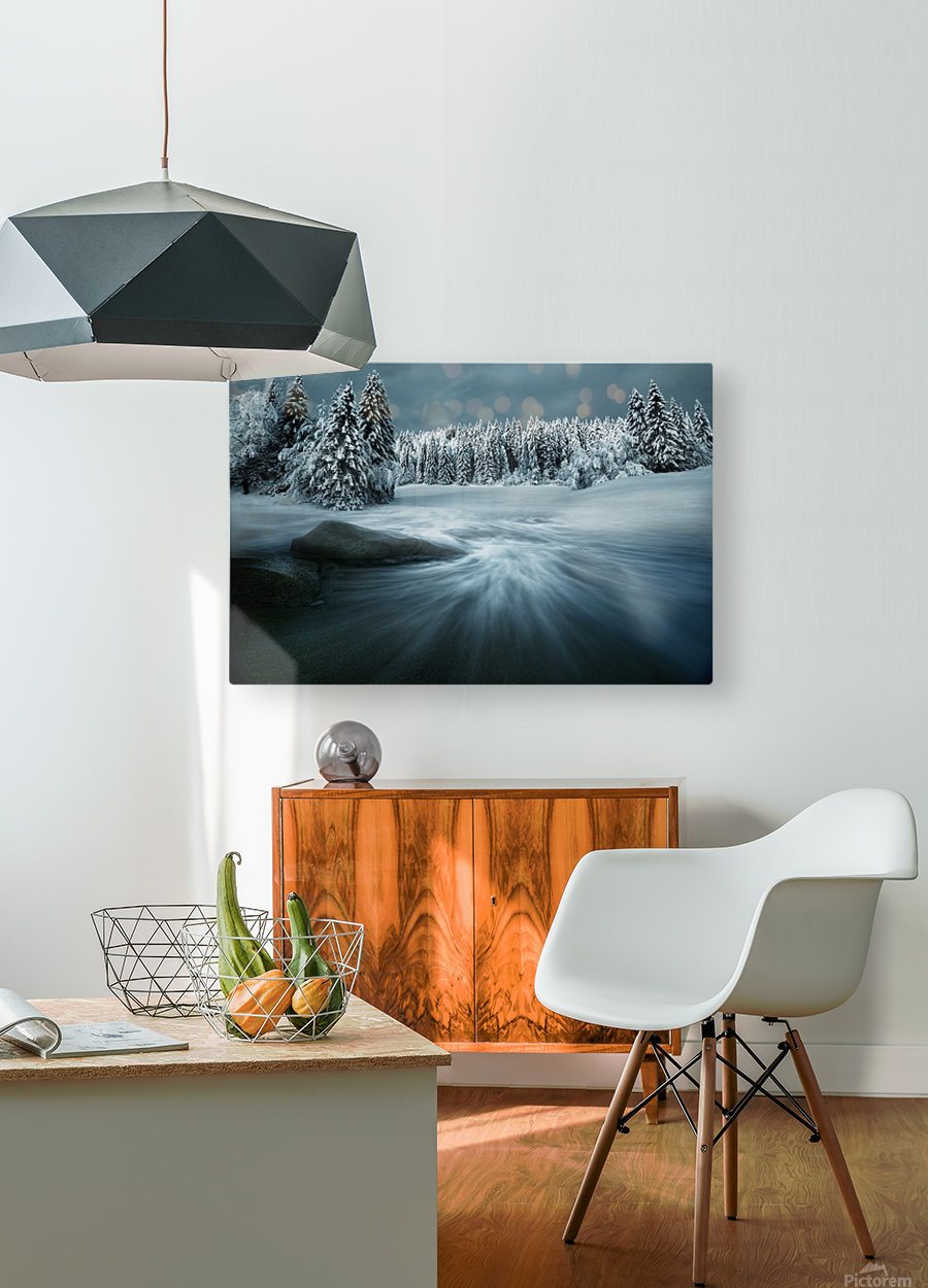 Just a Dream  HD Metal print with Floating Frame on Back