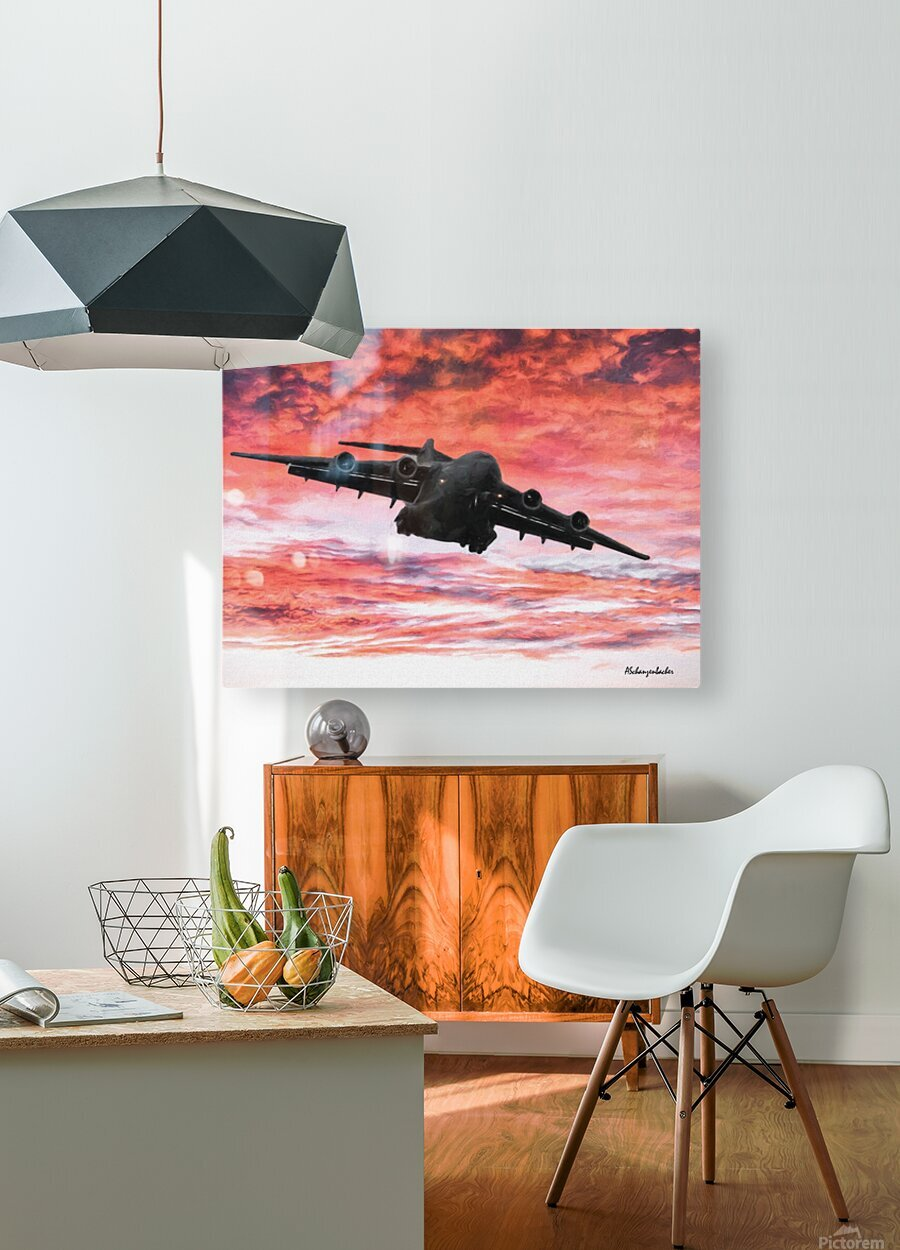 Soaring in the sky  HD Metal print with Floating Frame on Back