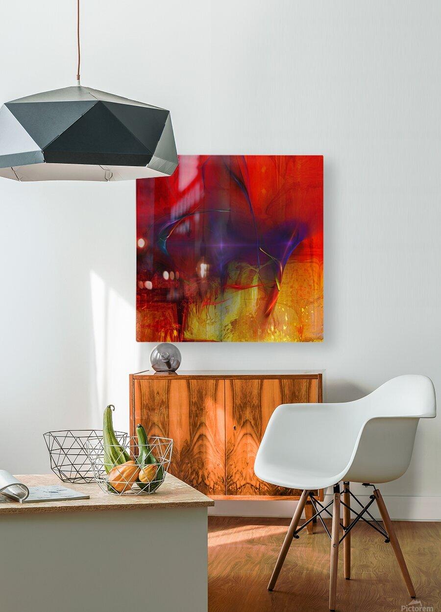 Akina  HD Metal print with Floating Frame on Back