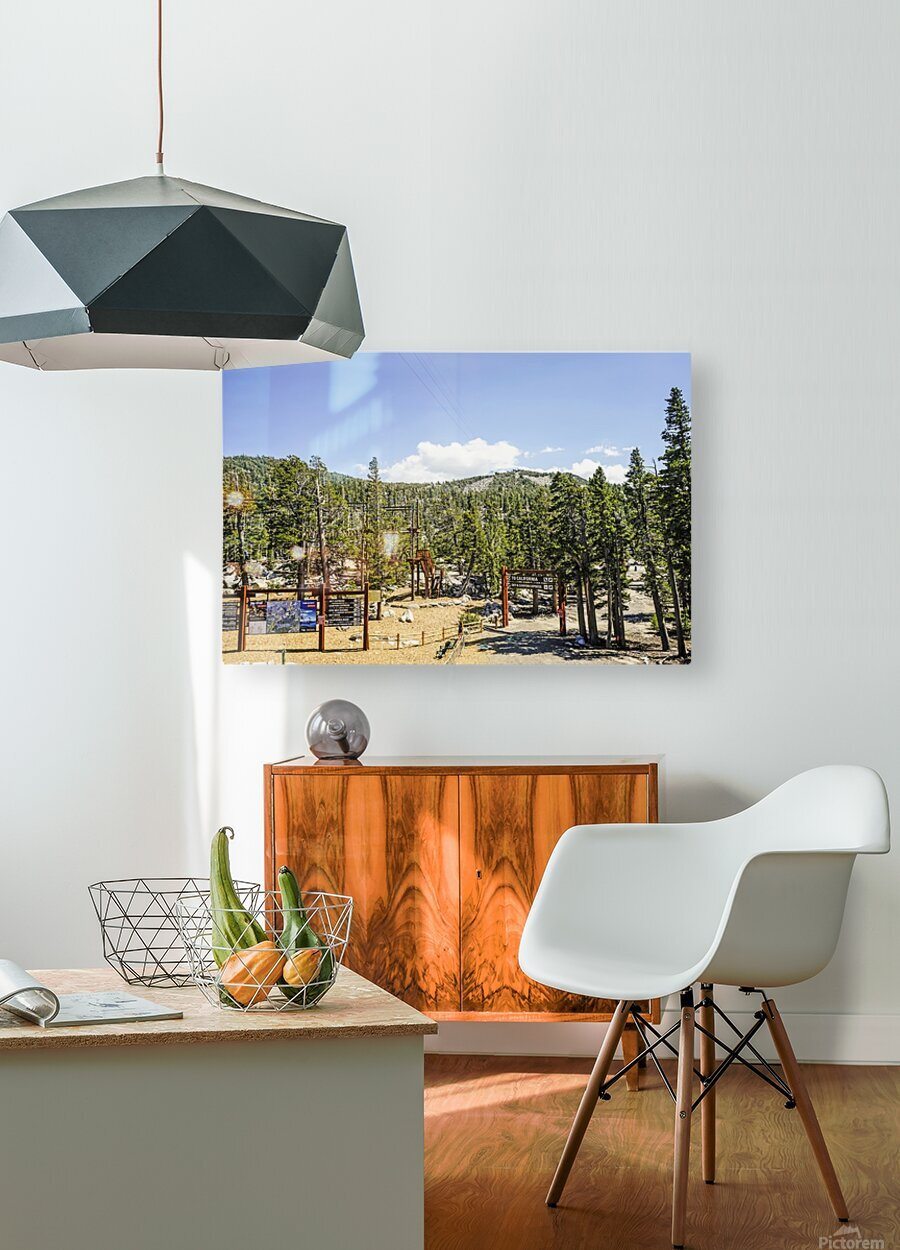Spring at Lake Tahoe 4 of 7  HD Metal print with Floating Frame on Back