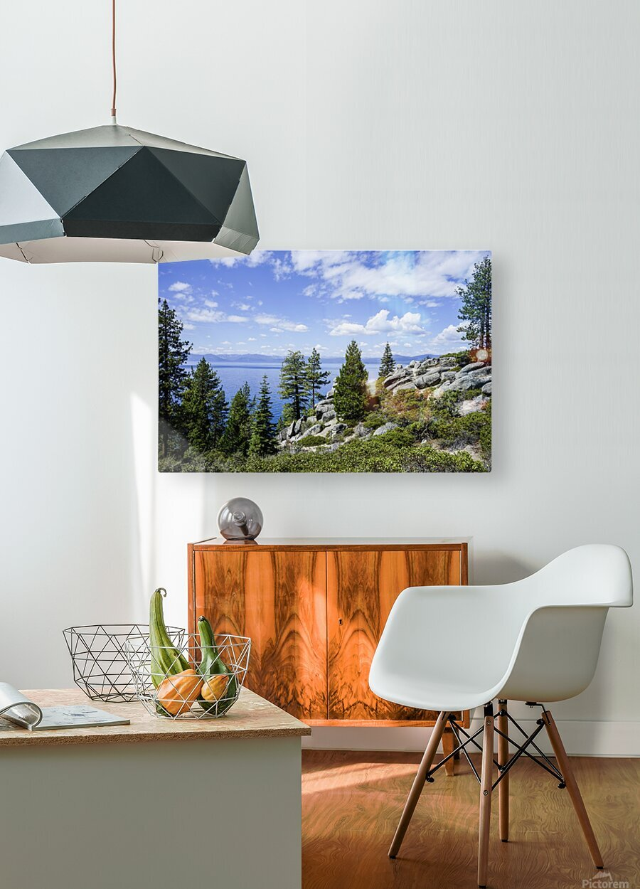 Spring at Lake Tahoe 5 of 7  HD Metal print with Floating Frame on Back