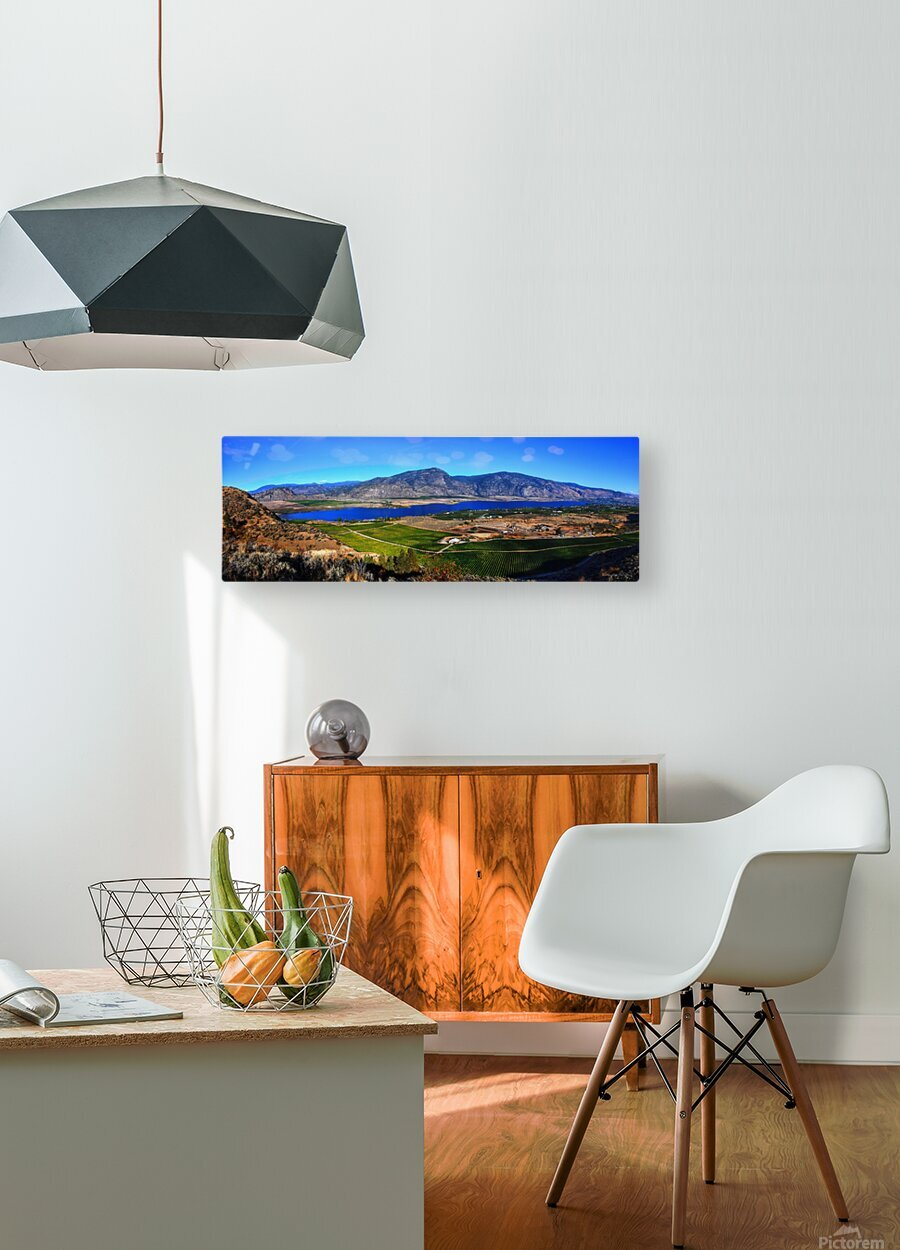 Osoyoos Panorama  HD Metal print with Floating Frame on Back