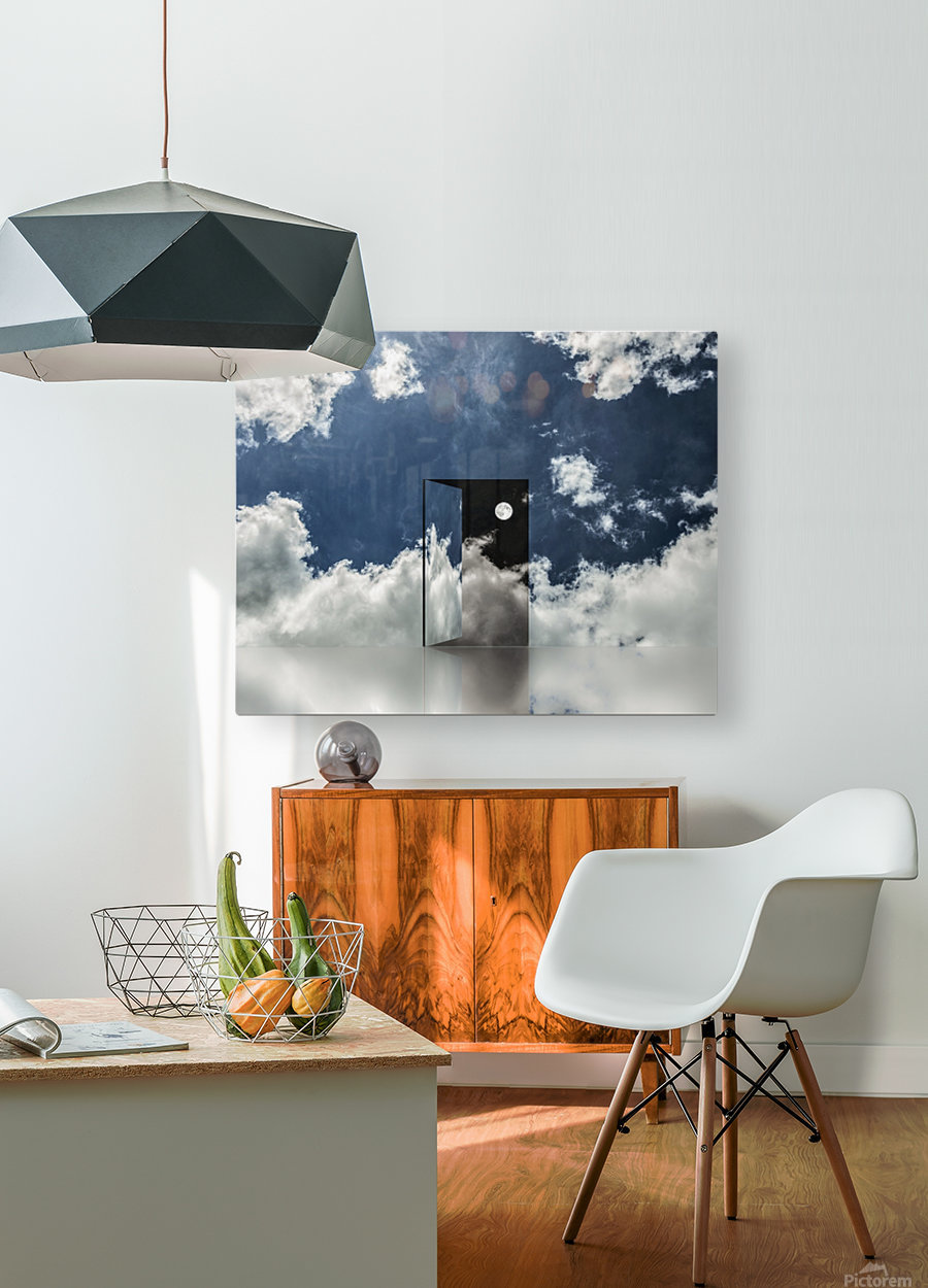 Event Horizon  HD Metal print with Floating Frame on Back