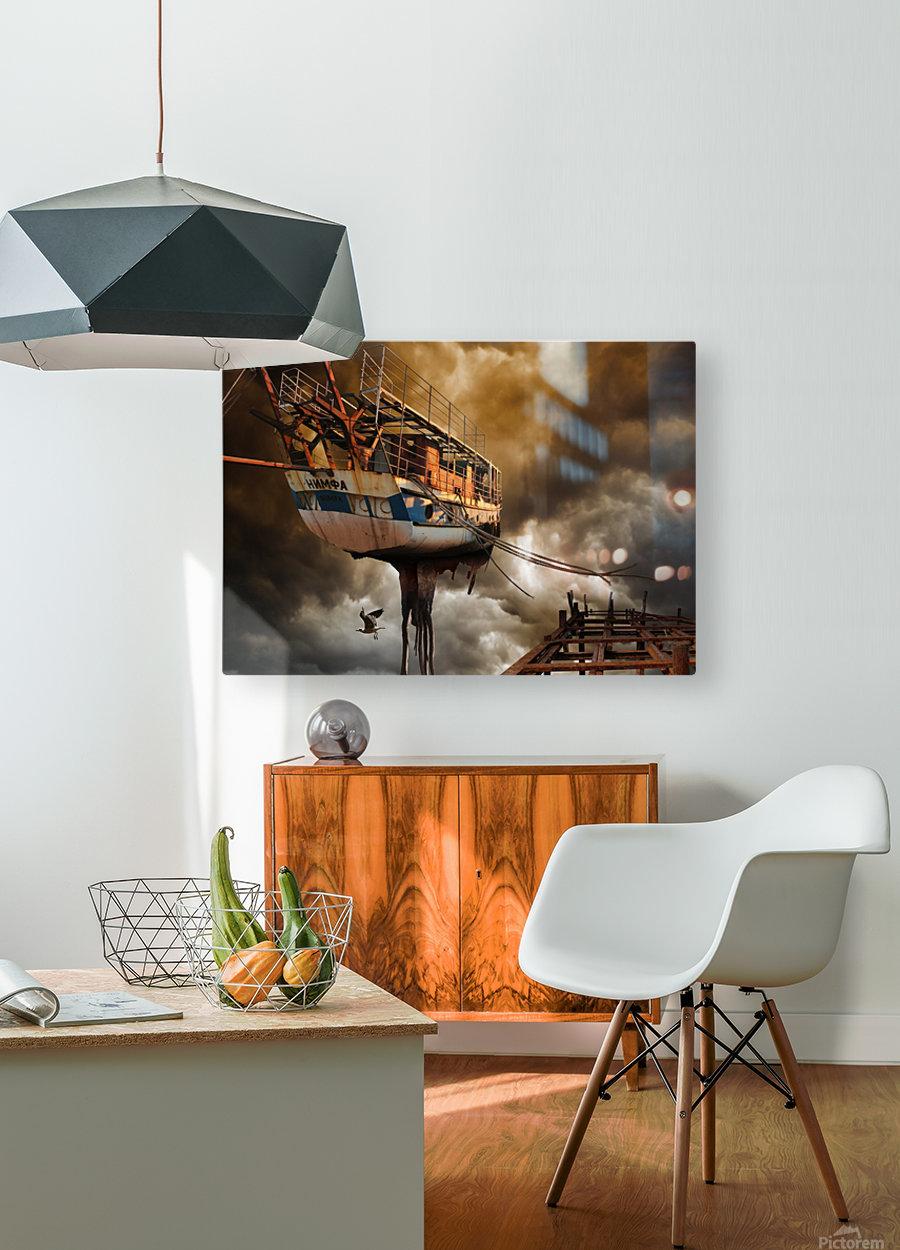 Nimfa  HD Metal print with Floating Frame on Back