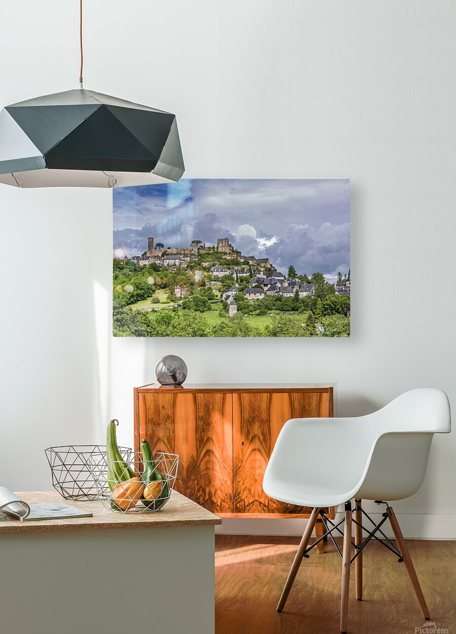 Turenne  HD Metal print with Floating Frame on Back