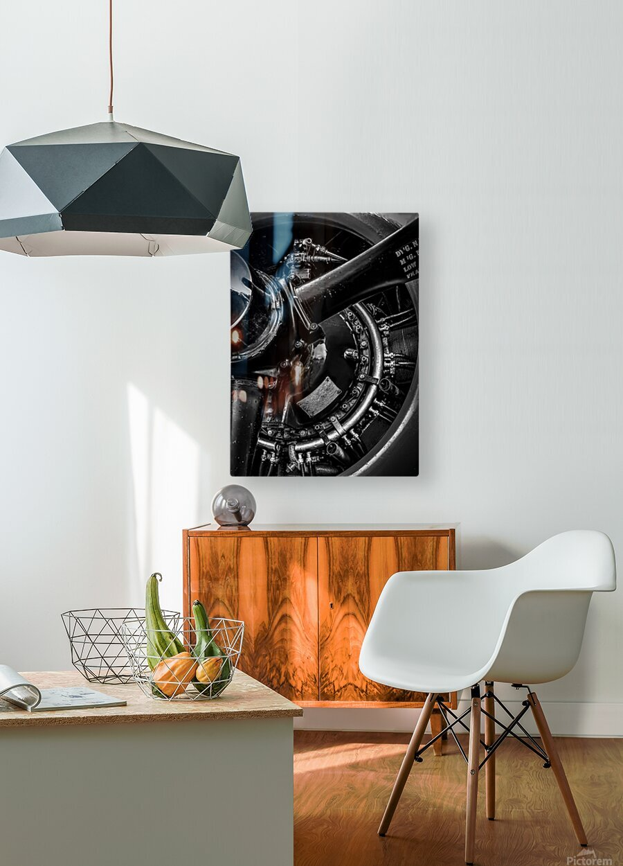 Cyclone 14  HD Metal print with Floating Frame on Back