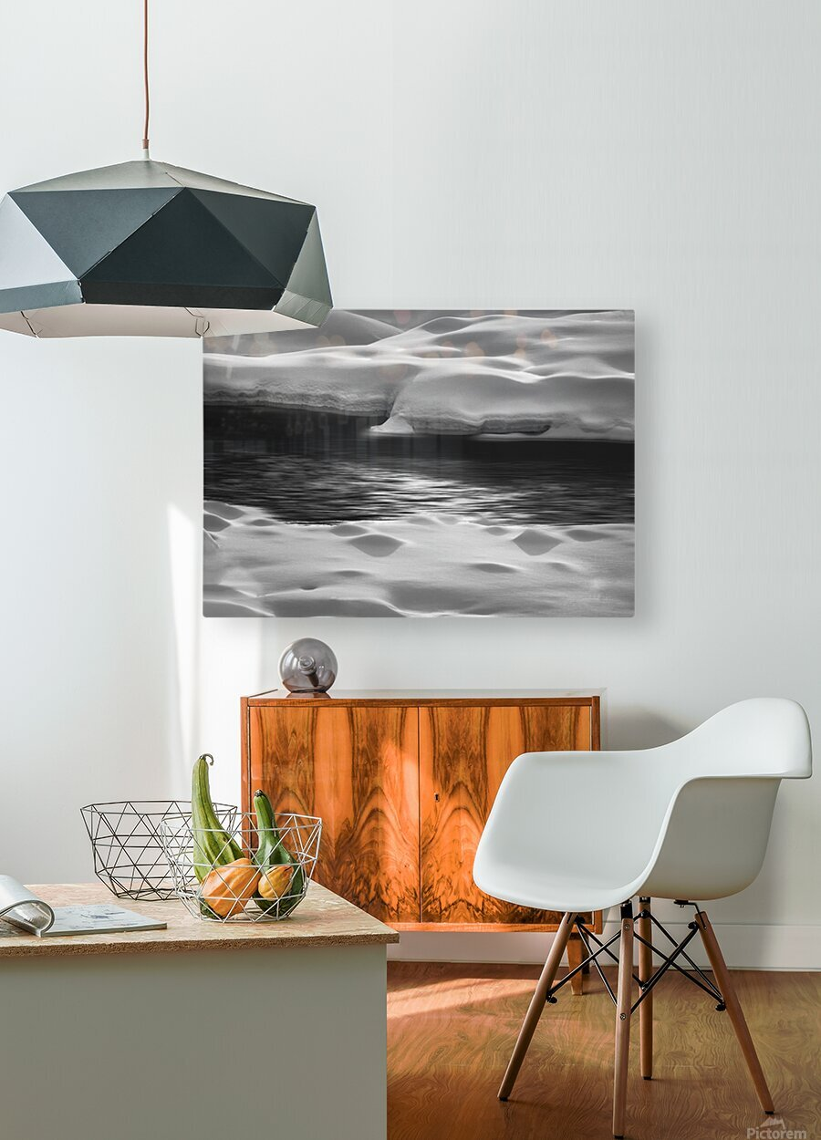 Between Here And There  HD Metal print with Floating Frame on Back