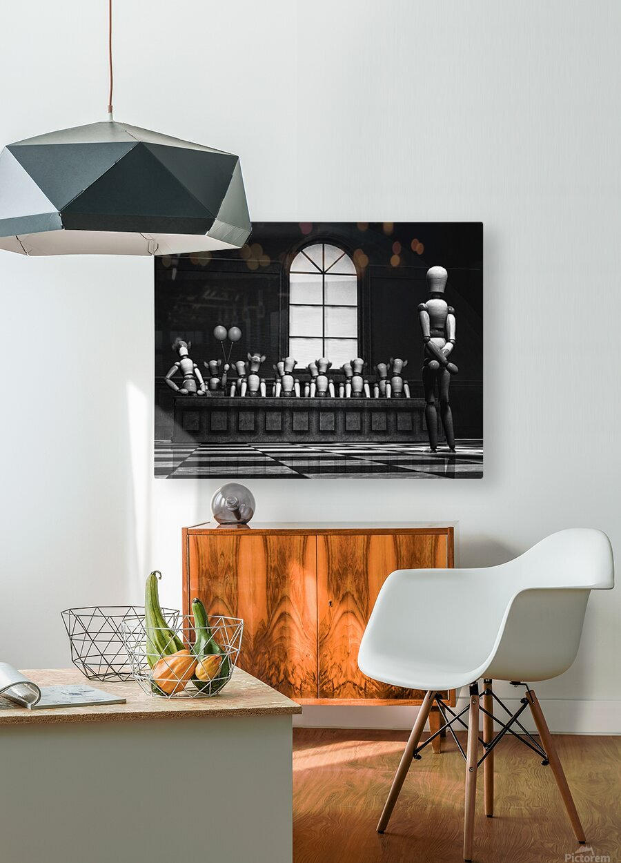 Jury Of Your Peers  HD Metal print with Floating Frame on Back
