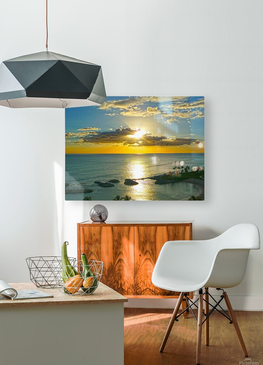 Island Dreamin  HD Metal print with Floating Frame on Back