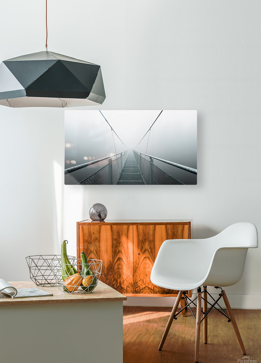The Path to Infinity  HD Metal print with Floating Frame on Back