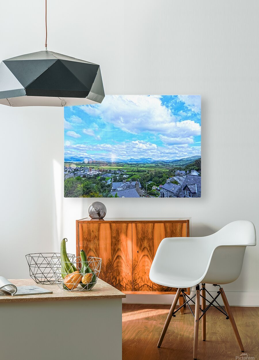 One Day in Wales 2 of 5  HD Metal print with Floating Frame on Back