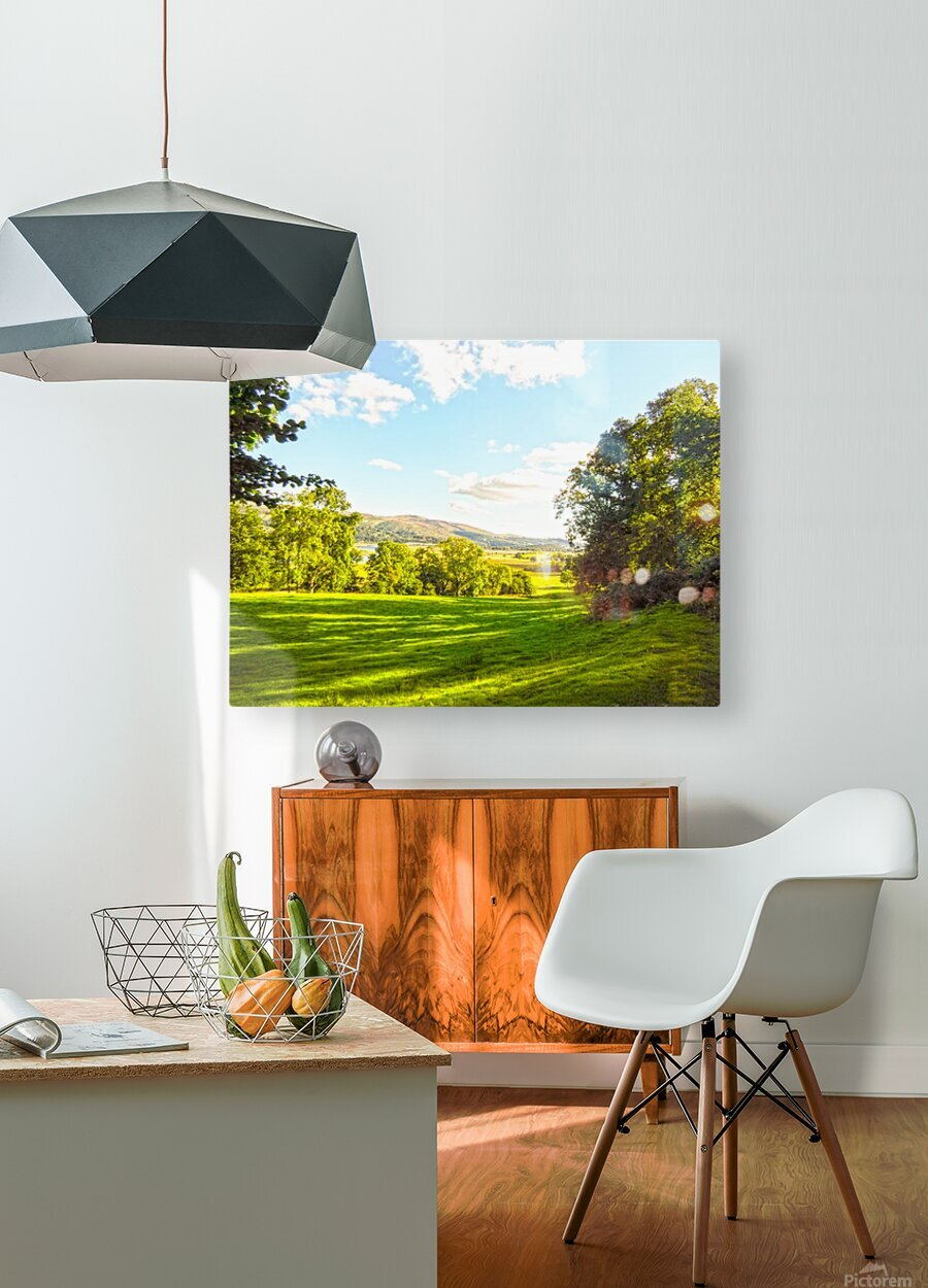 Wales in Spring  HD Metal print with Floating Frame on Back
