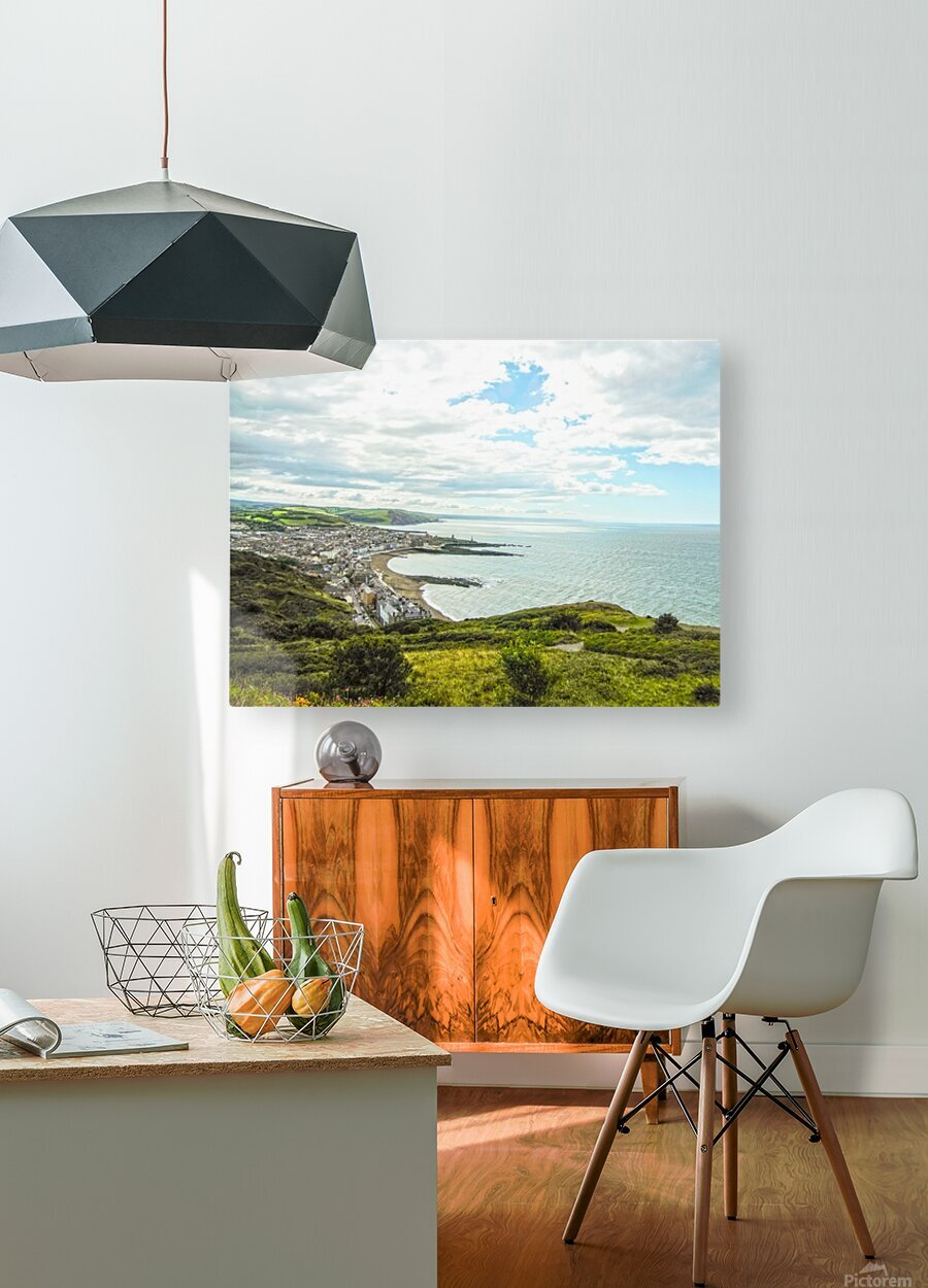 Wondrous Aberystwyth 5 of 5  HD Metal print with Floating Frame on Back