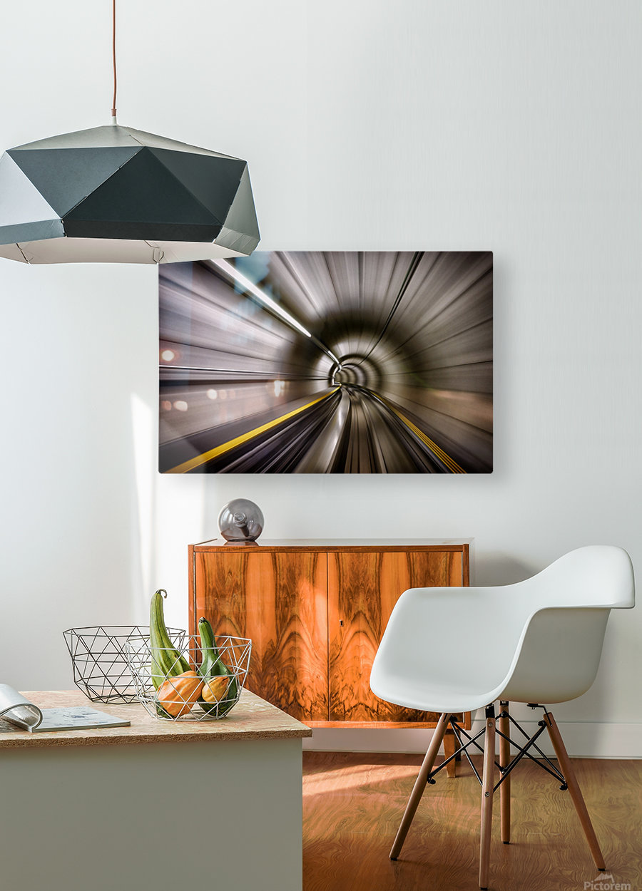 In  HD Metal print with Floating Frame on Back