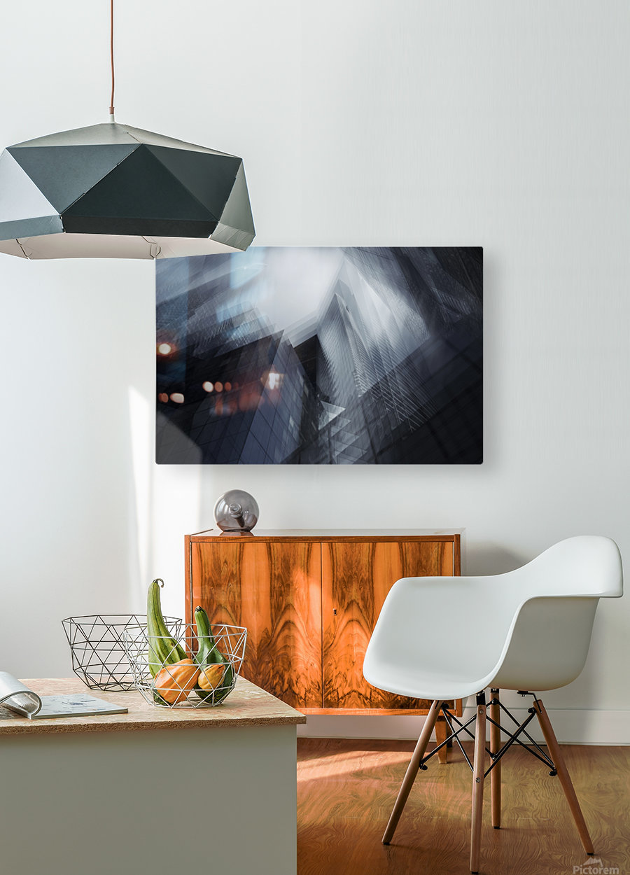 Parallel by Sebastien DEL GROSSO  HD Metal print with Floating Frame on Back