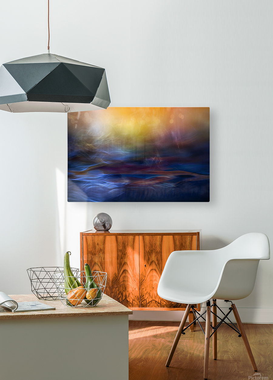 Inner Peace  HD Metal print with Floating Frame on Back