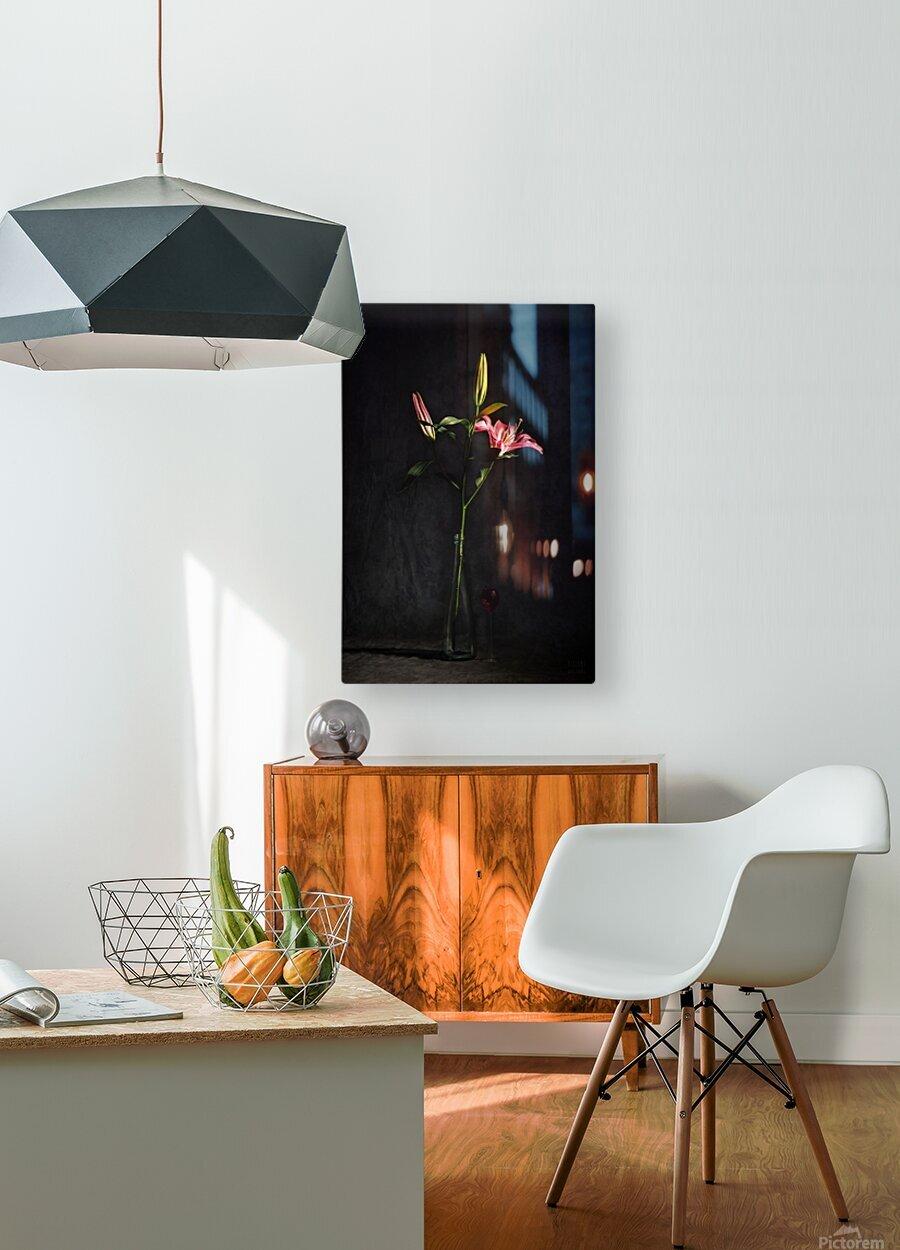 Etude Zen 4f  HD Metal print with Floating Frame on Back