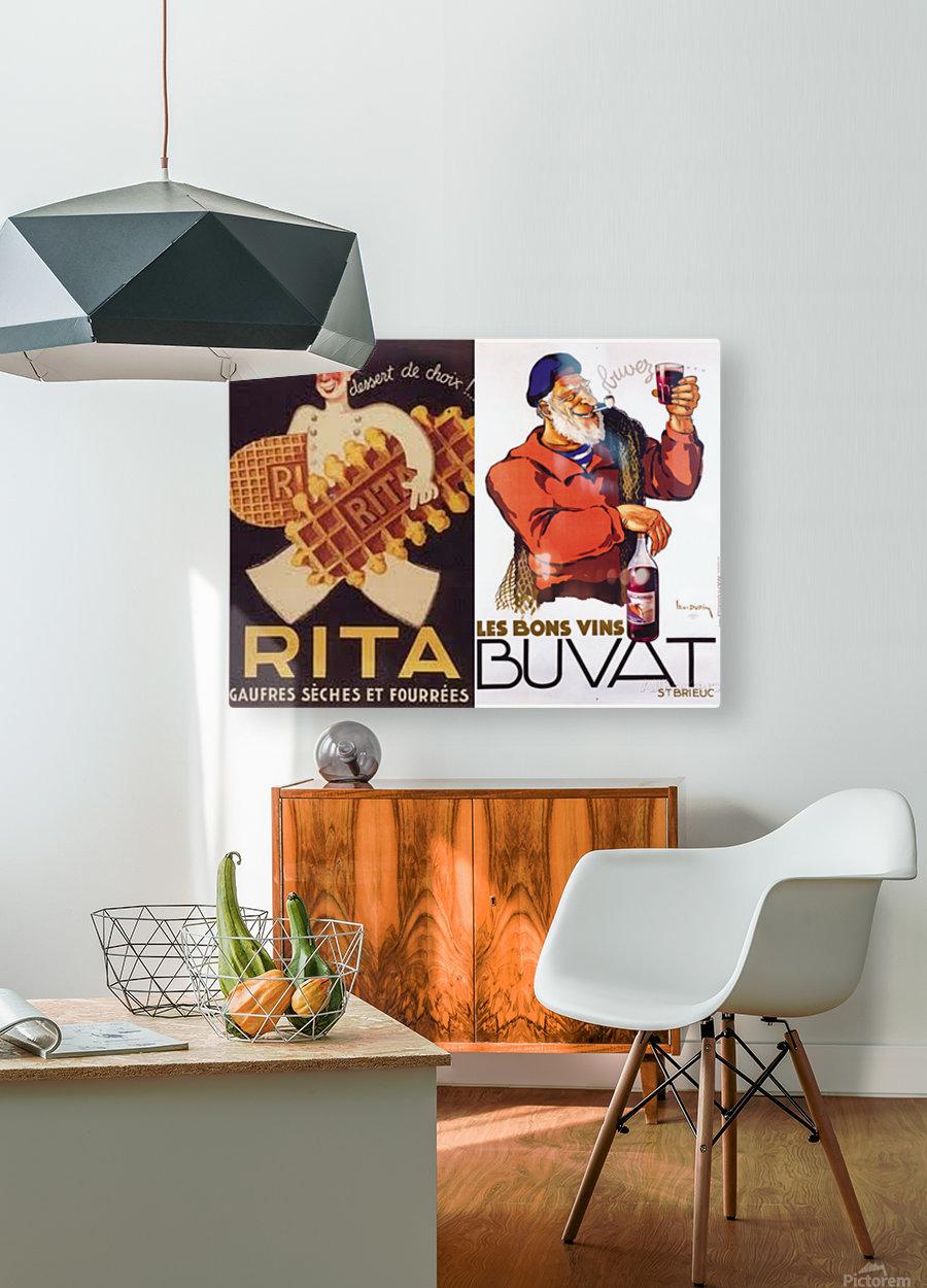 Rita Buvat  HD Metal print with Floating Frame on Back