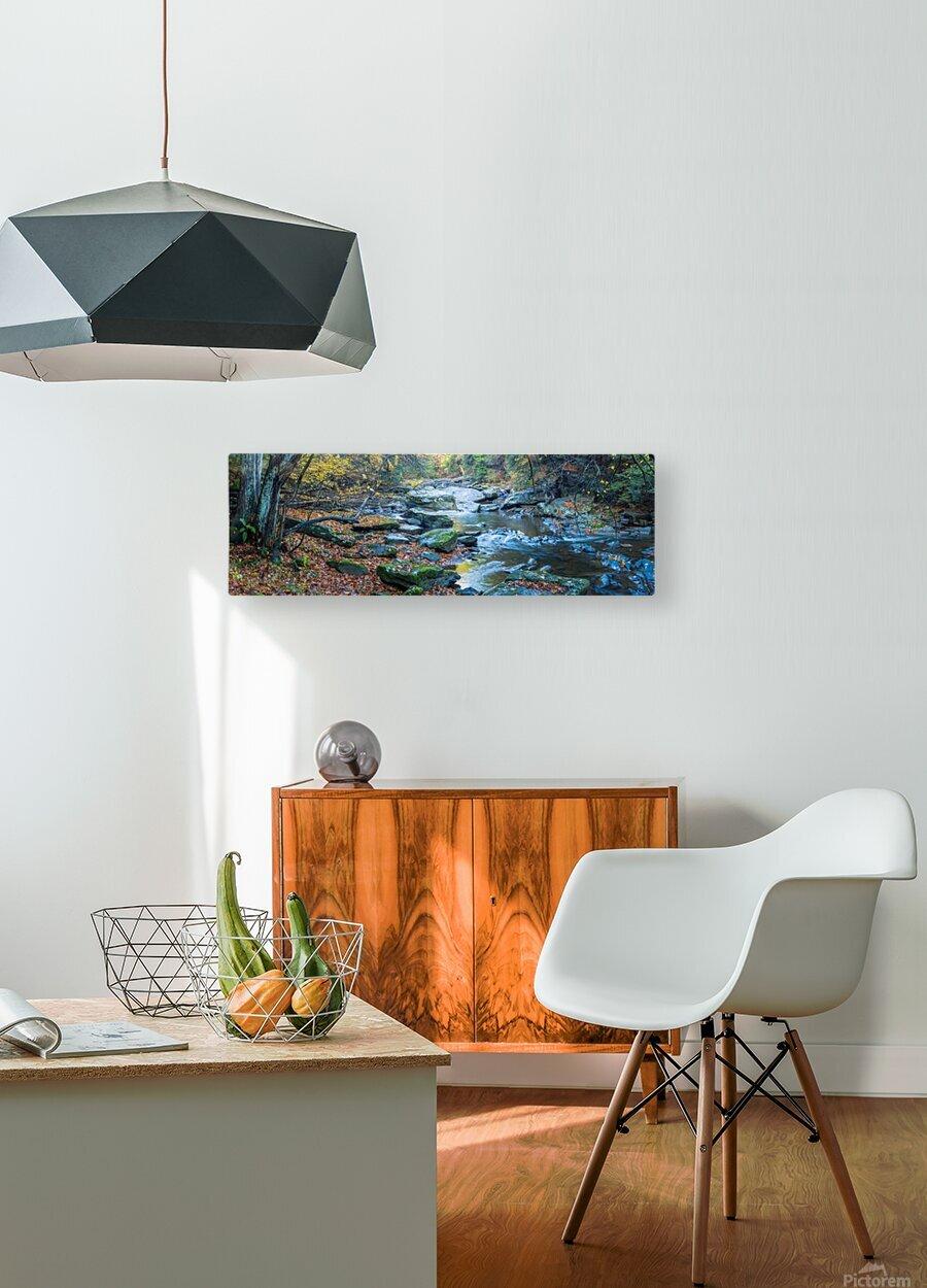 Cowanshannock Creek apmi 1982  HD Metal print with Floating Frame on Back