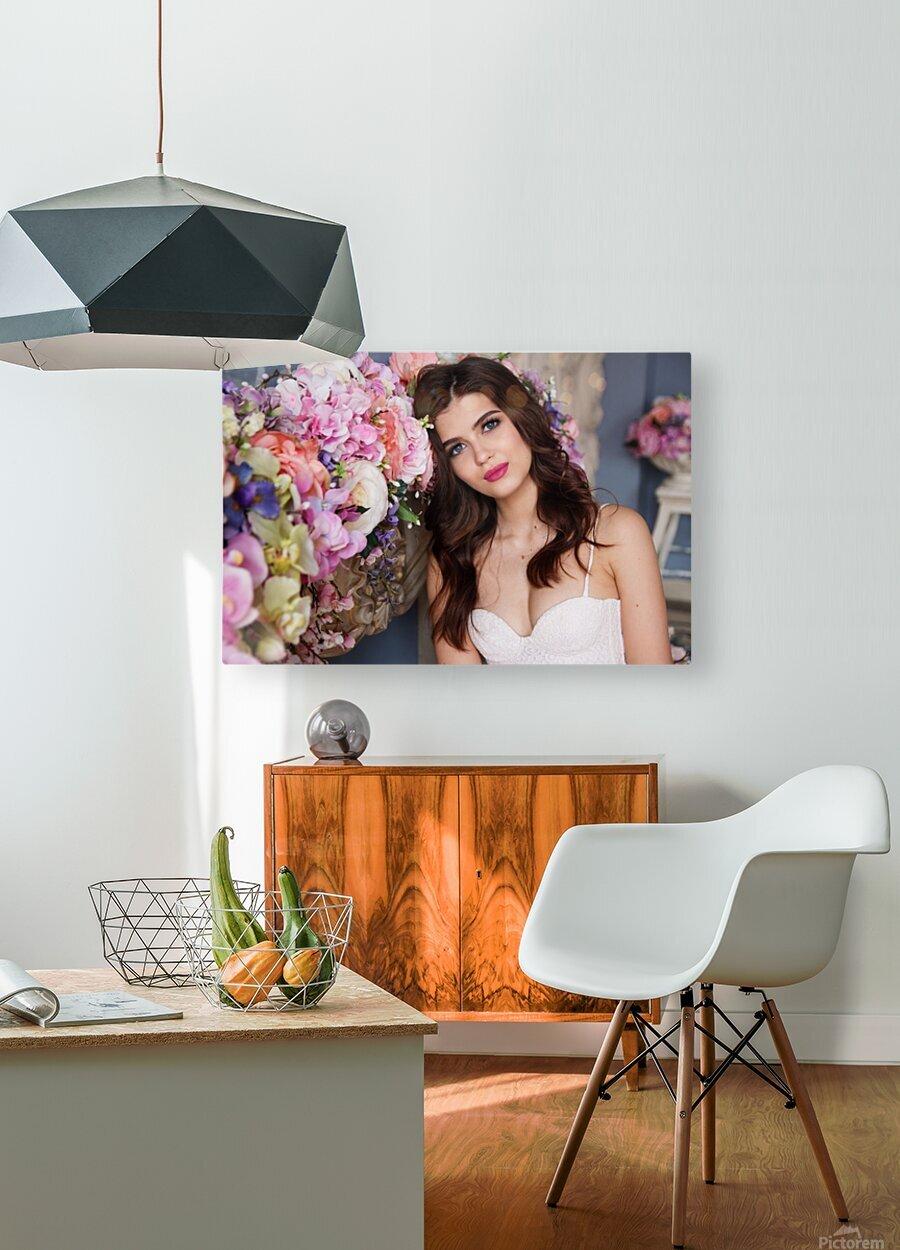 European brides  HD Metal print with Floating Frame on Back