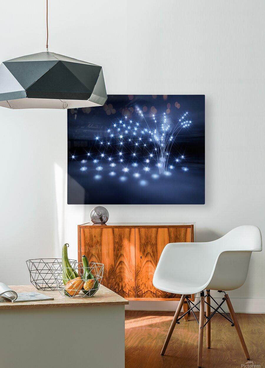 Sternenkinder stiller Ort der Seelen  HD Metal print with Floating Frame on Back