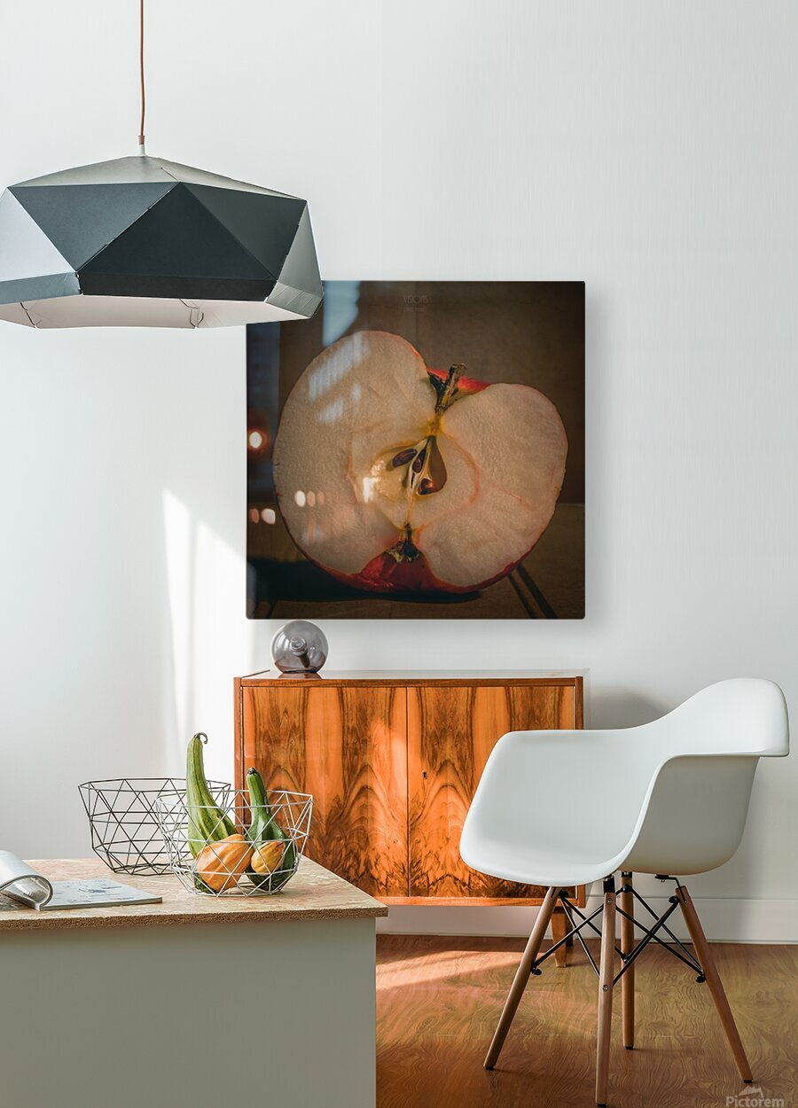 Etude Zen 7d  HD Metal print with Floating Frame on Back