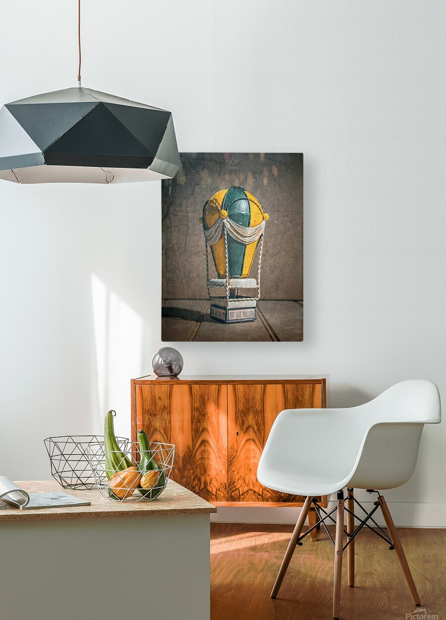 Reves denfant  HD Metal print with Floating Frame on Back
