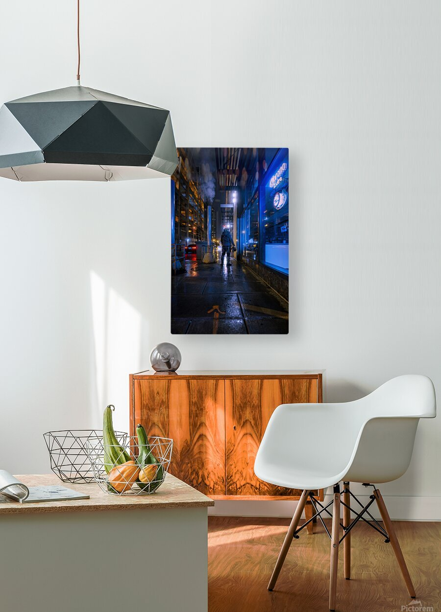 Surface  HD Metal print with Floating Frame on Back