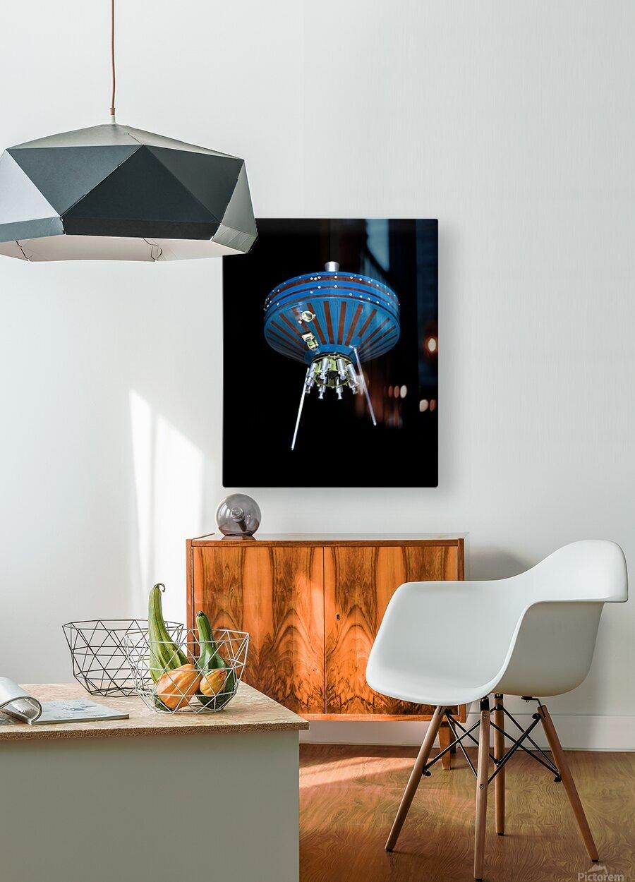 NASA Pioneer SatPioneer 1 Satellite Outer Space Image Space Imageellite Replica  HD Metal print with Floating Frame on Back