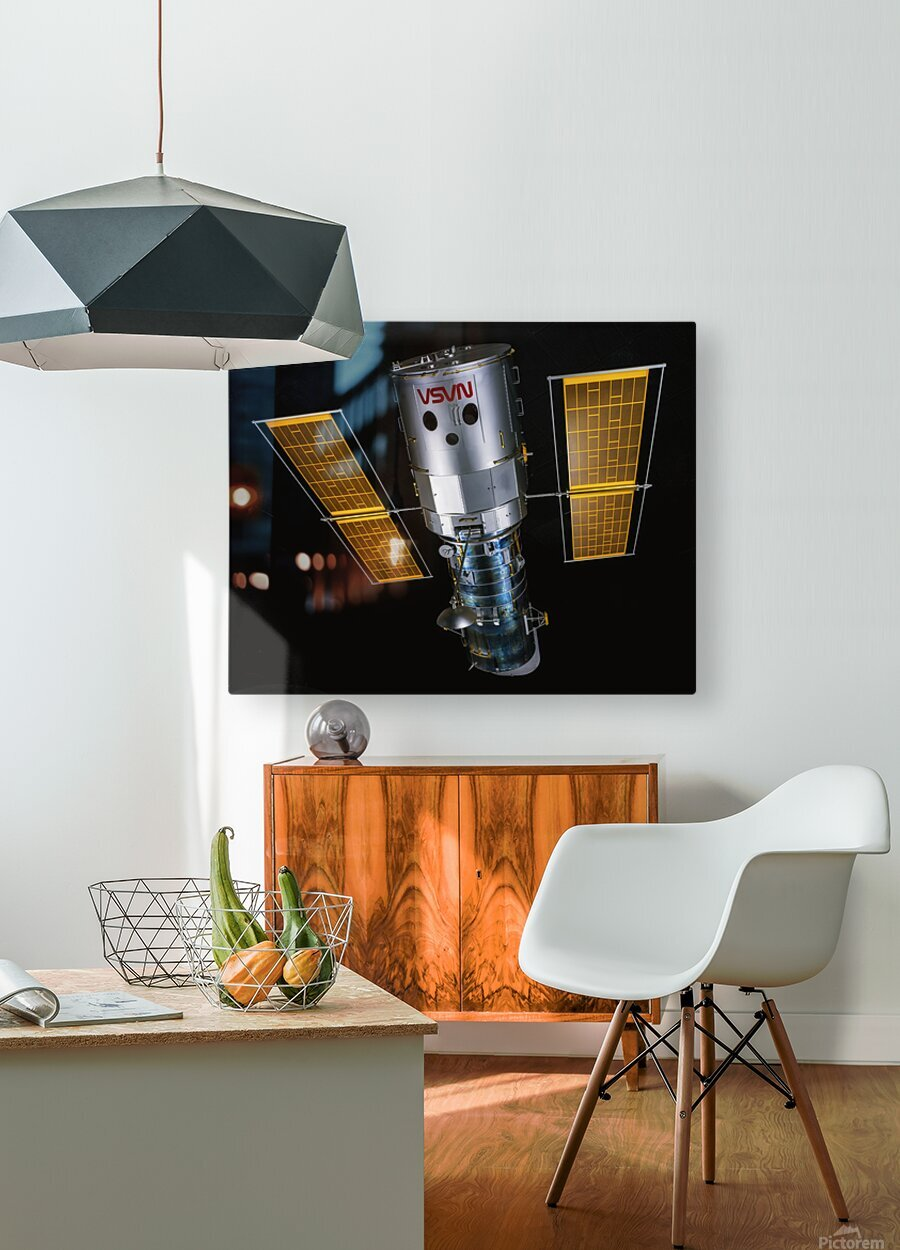 NASA Hubble Space Telescope - Outer Space Image  HD Metal print with Floating Frame on Back