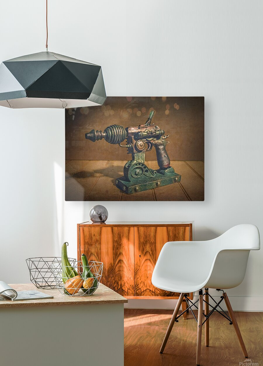 Steampunk 1  HD Metal print with Floating Frame on Back
