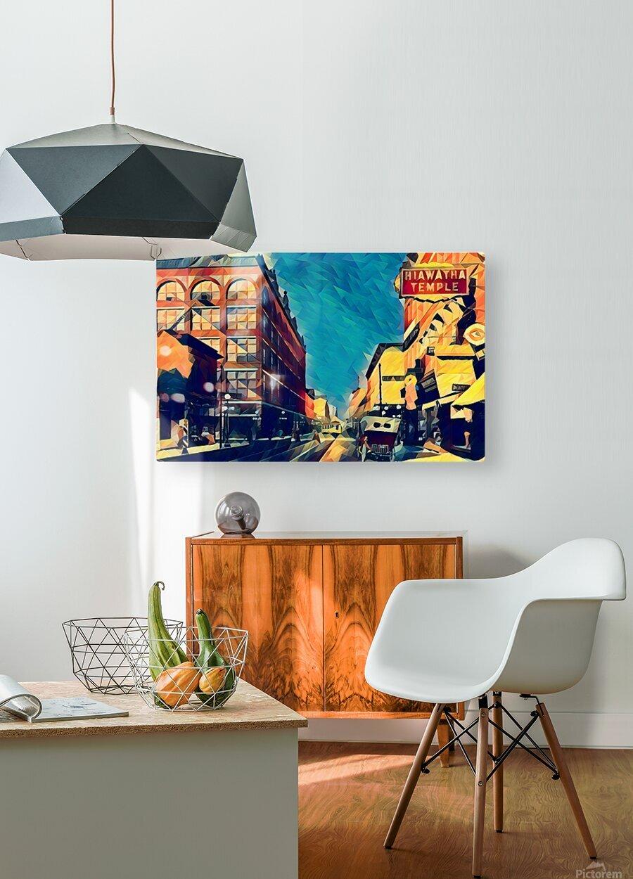 1915 st paul wabasha street  HD Metal print with Floating Frame on Back