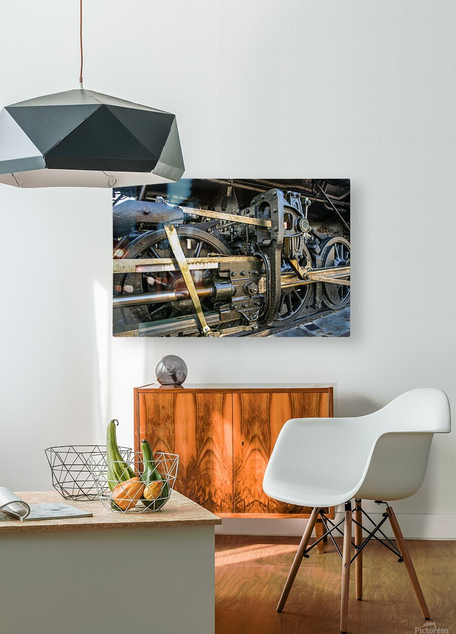 Strasburg 16  HD Metal print with Floating Frame on Back