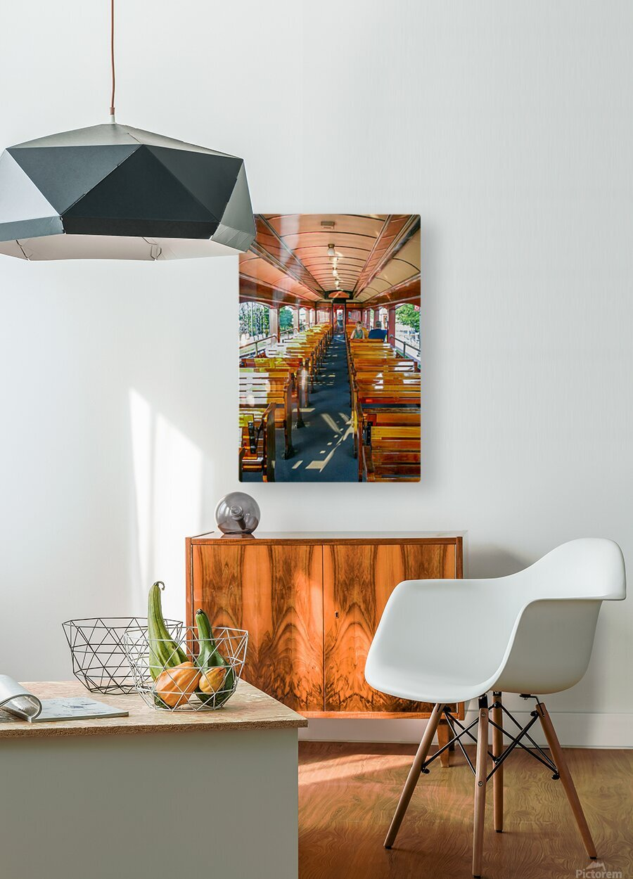 The Cheap Seats.  HD Metal print with Floating Frame on Back