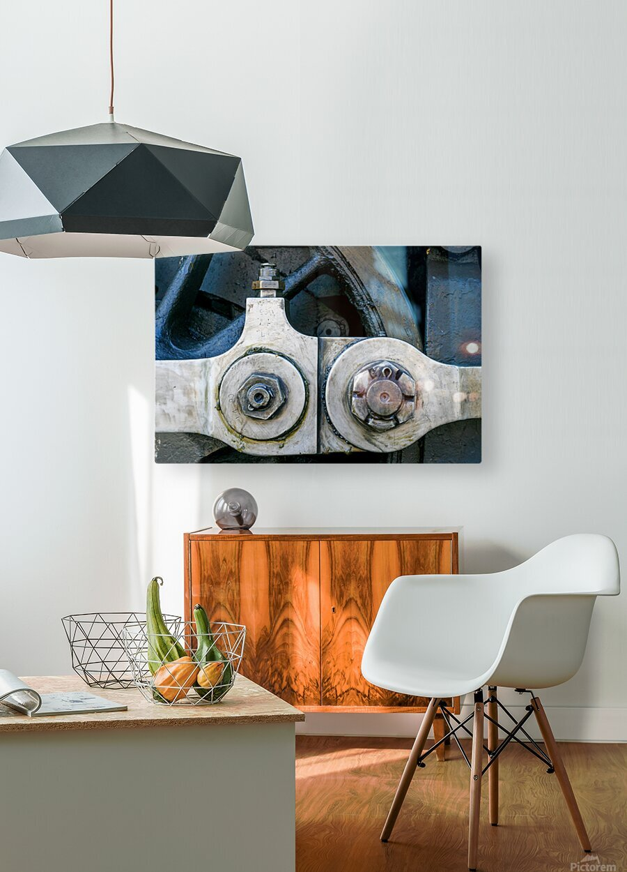 Strasburg 19  HD Metal print with Floating Frame on Back