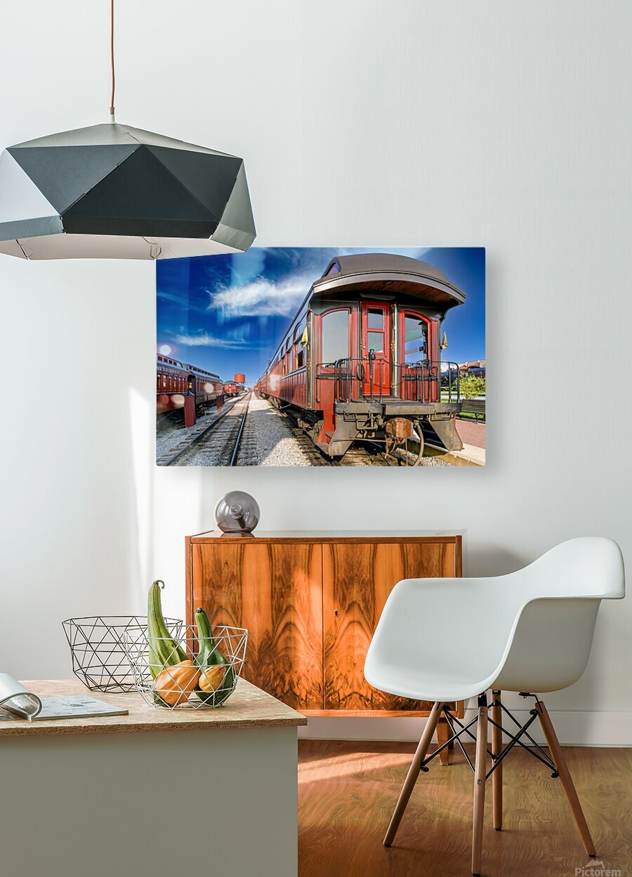 Strasburg 2  HD Metal print with Floating Frame on Back