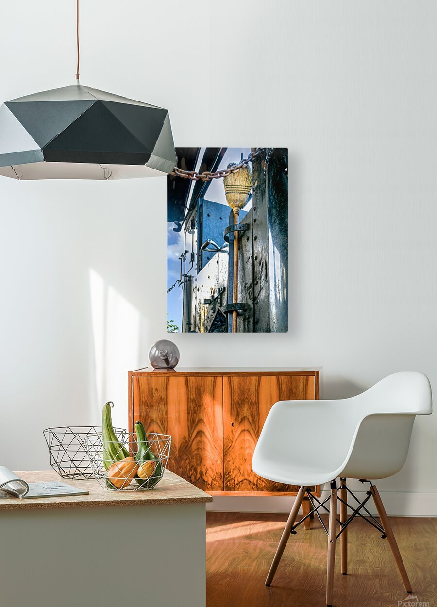 Strasburg 21  HD Metal print with Floating Frame on Back