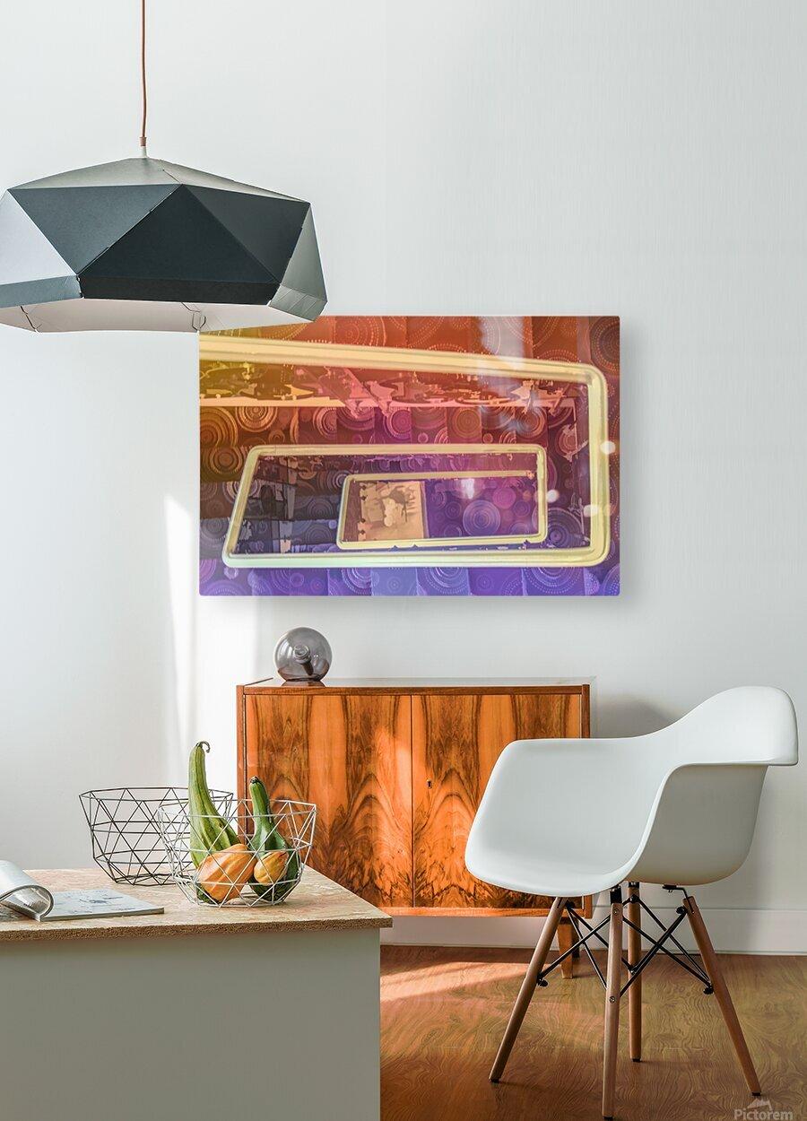hotel stairway nice studio 6  HD Metal print with Floating Frame on Back