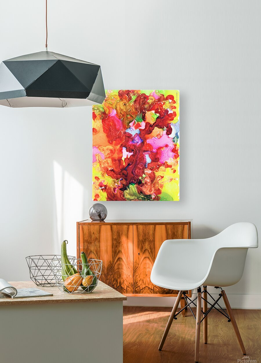 Clarity and Blur Midday  HD Metal print with Floating Frame on Back
