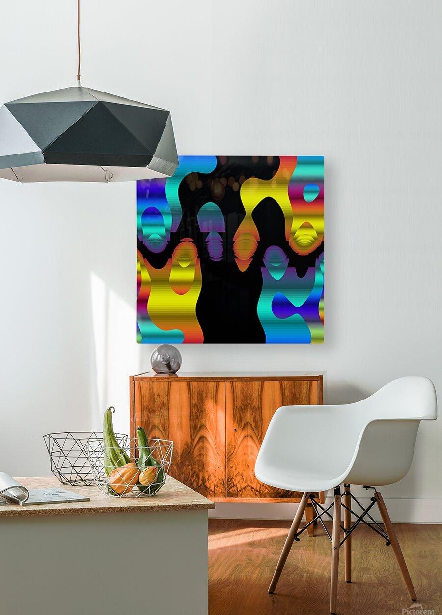 Danse Dancing  HD Metal print with Floating Frame on Back