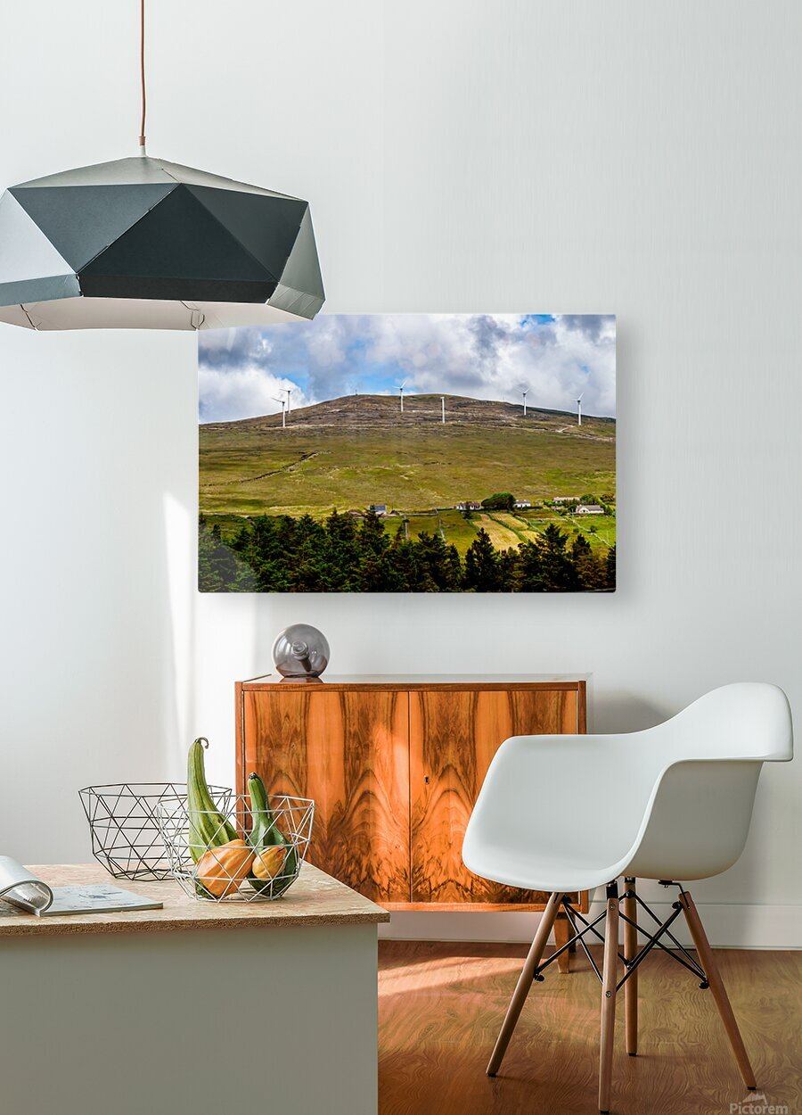 Donegal 32  HD Metal print with Floating Frame on Back