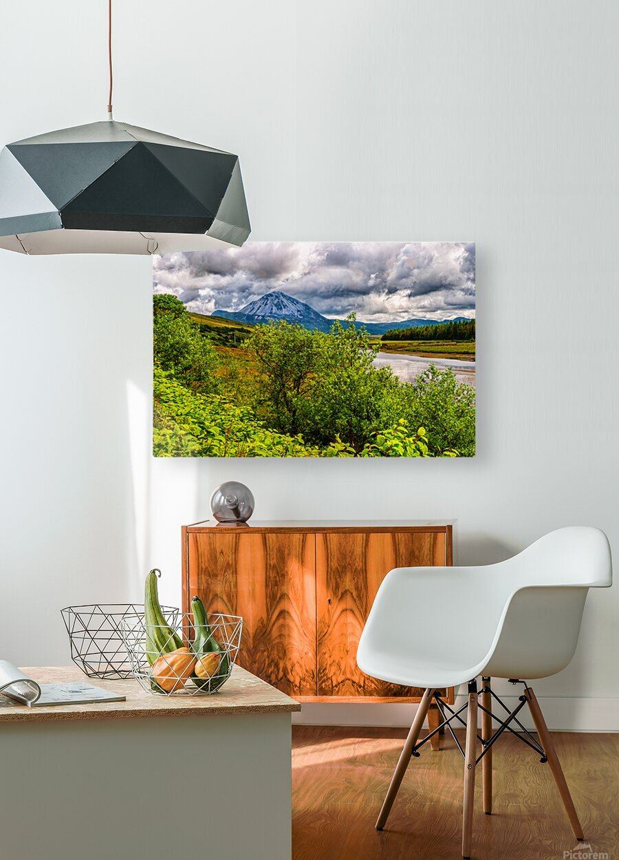 Donegal 18  HD Metal print with Floating Frame on Back