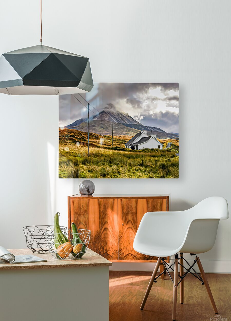 Donegal 17  HD Metal print with Floating Frame on Back
