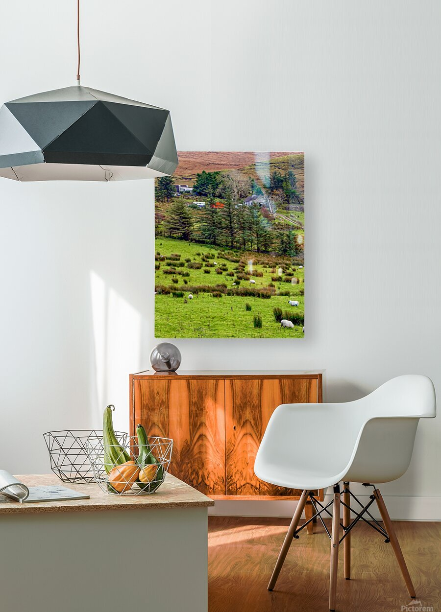 Donegal 7  HD Metal print with Floating Frame on Back