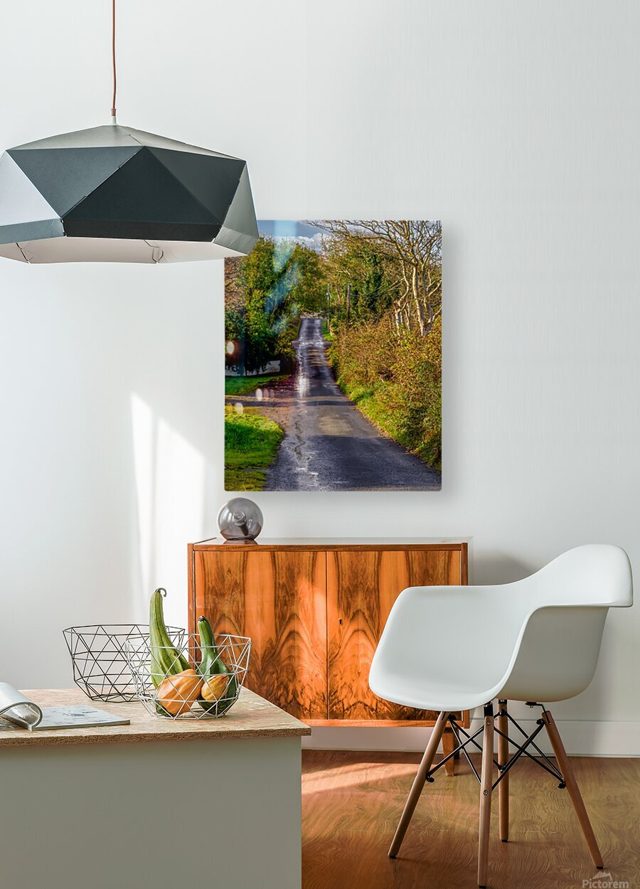 Donegal Byway  HD Metal print with Floating Frame on Back