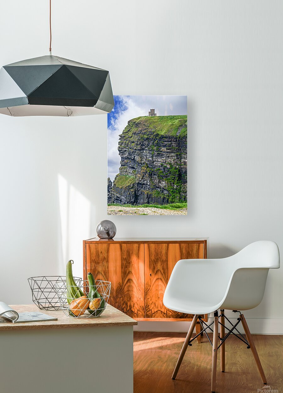 Cliffs Of Moher 2  HD Metal print with Floating Frame on Back